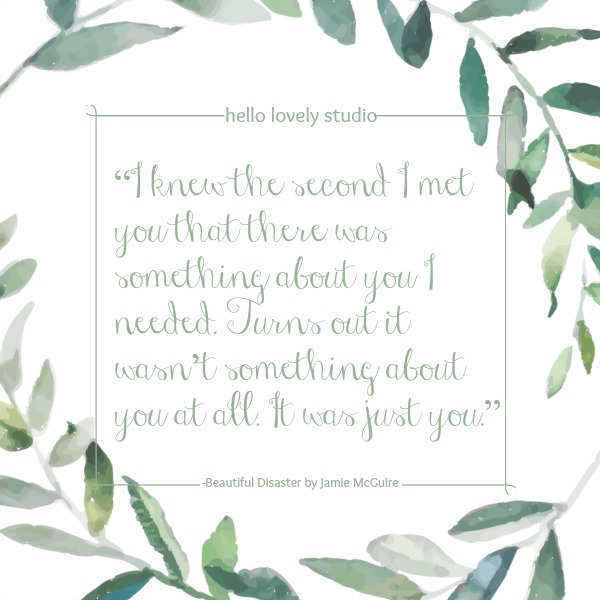 Inspiring quote about romance and love on Hello Lovely Studio! #quote #romance #valentinesday