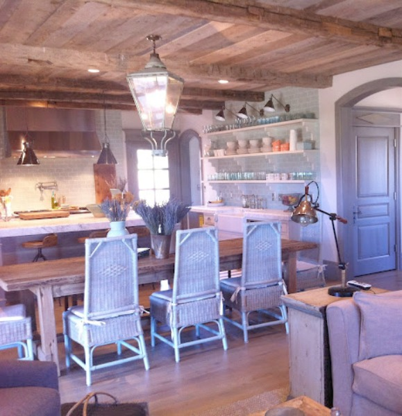 Kitchen. Breathtaking French cottage in Utah by Desiree Ashworth of Decor de Provence. French country interior design inspiration awaits in this house tour with rustic decor, Gustavian influences, and European country charm! #frenchcottage #frenchcountry #interiordesign