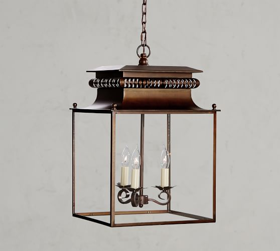 Bolton lantern from Pottery Barn - 15 Stunning European Country Inspired Farmhouse Ingredients