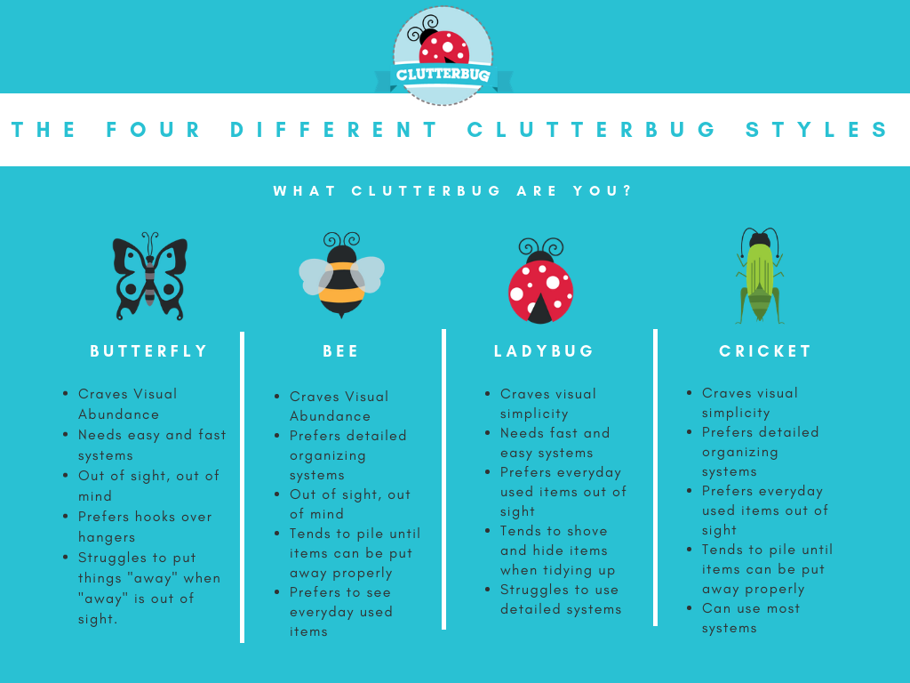 The Clutter Connection by Cassandra Aarssen. Learn how to organize your home and declutter your spaces by identifying your type. #homeorganization #decluttering #clutter #organizationideas