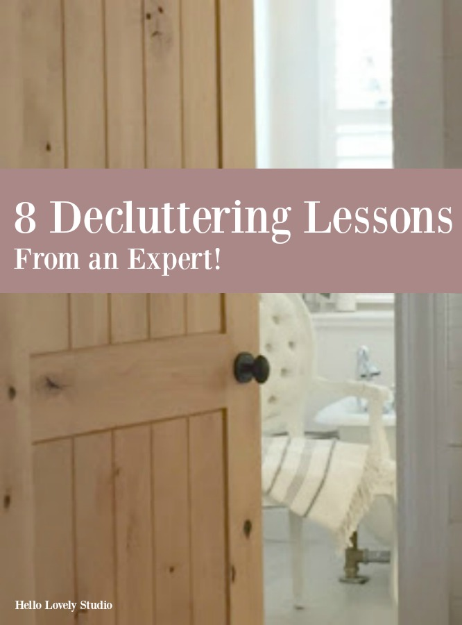 8 Decluttering Lessons From an Expert