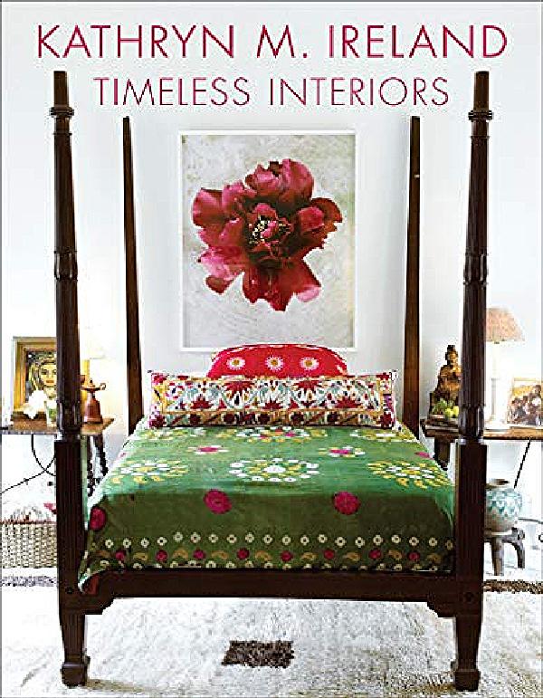 Timeless Interiors by Kathryn M. Ireland book cover. #interiordesignbook #bestseller #timelessdesign