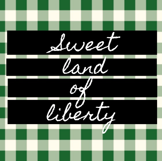 Inspirational quote about America and freedom on Hello Lovely. Sweet land of liberty.