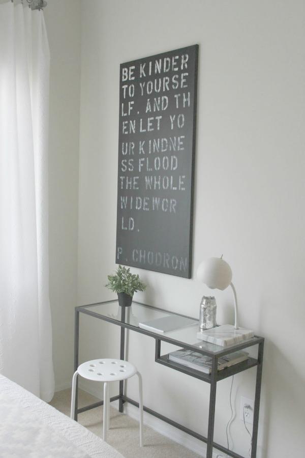 11 Super Simple Ikea Hacks For Vittsjo Desk Amp Shelf