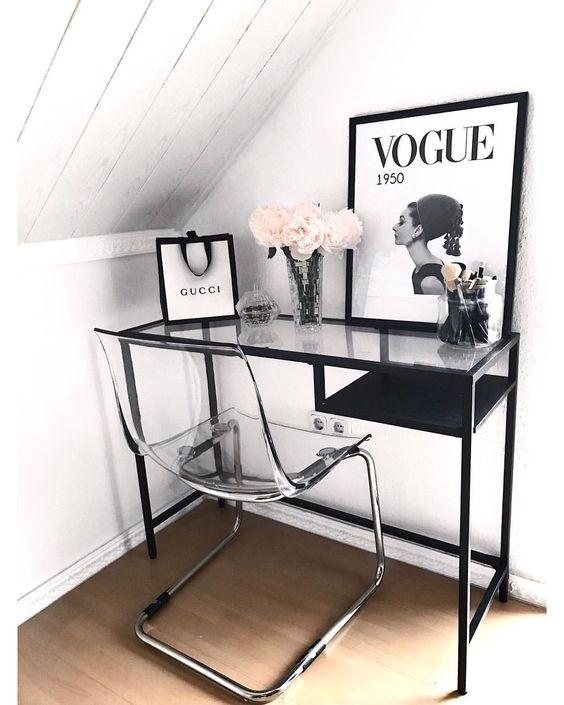 Vittsjo laptop table with Tobias chair.