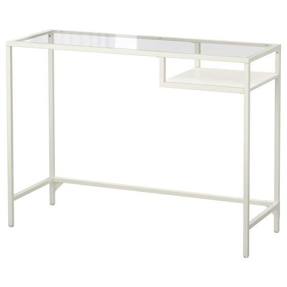 Vittsjo Laptop Table from Ikea in white