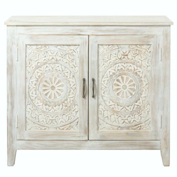 Chennai White Wash Nightstand from The Home Decorators Collection at The Home Depot.