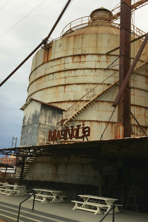 Magnolia Silos in Waco - Hello Lovely Studio. Come be inspired by American Farmhouse Decor Ideas: Magnolia Silos.