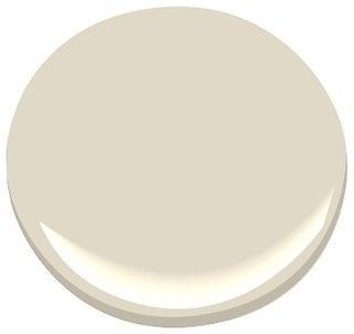 BENJAMIN MOORE White Sand paint color.