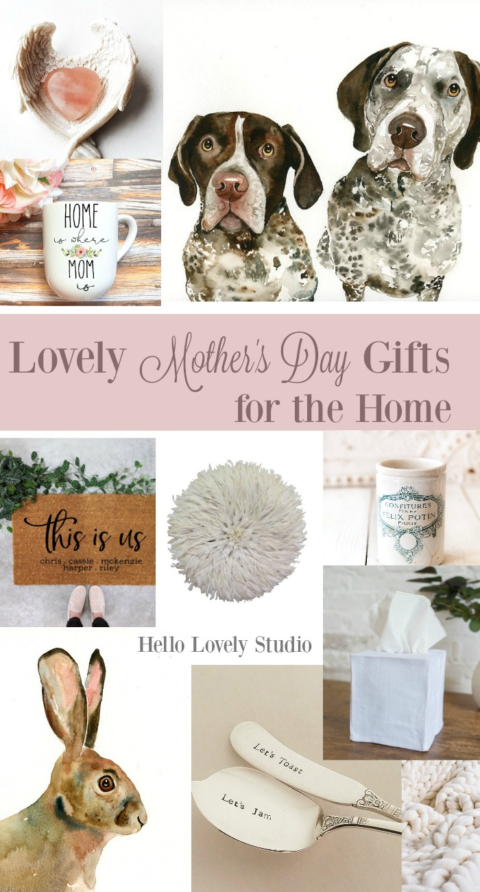 Lovely Mother's Day Gifts for the Home