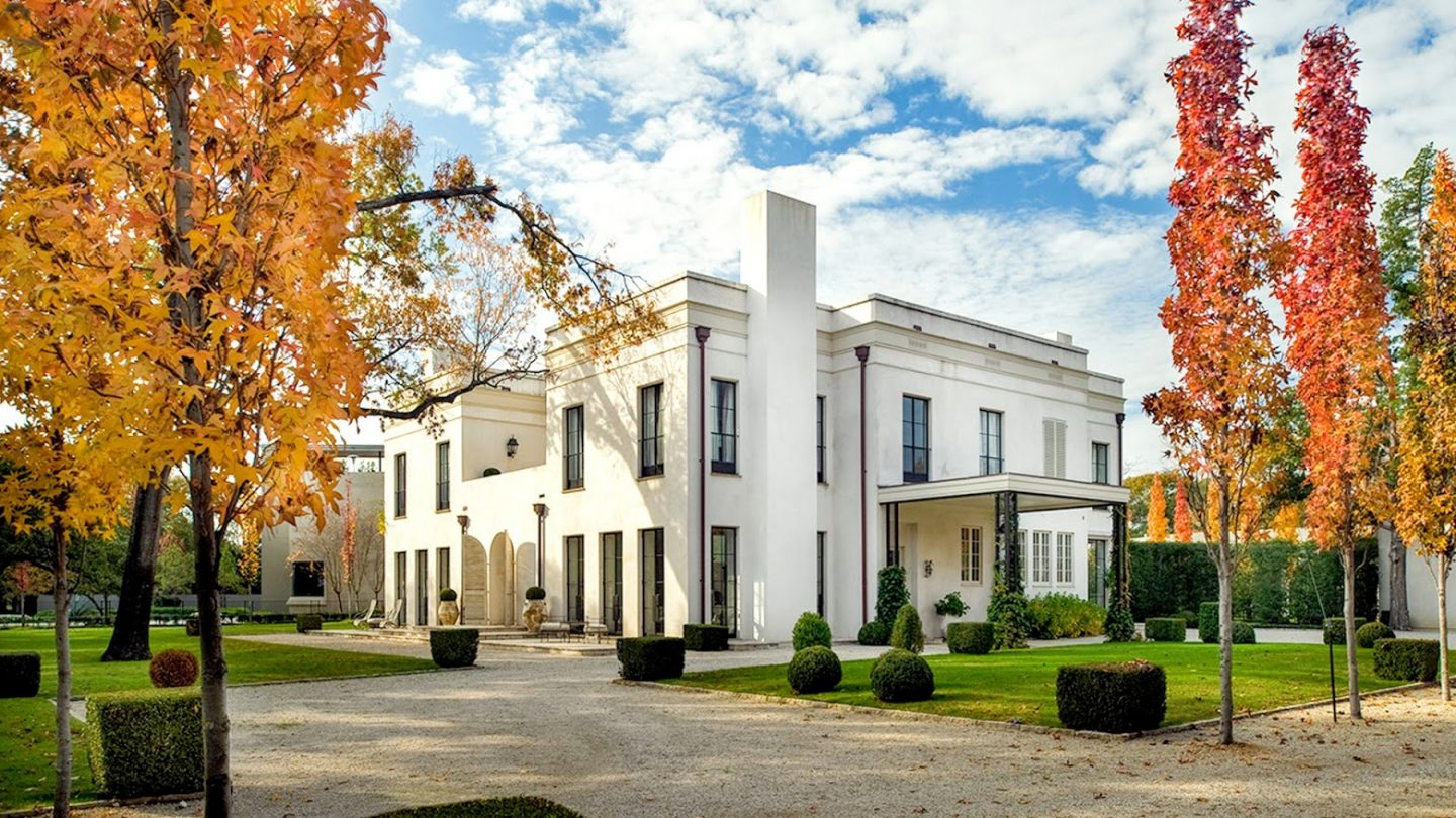 Luxury home designed by Reagan Andre on Montrose in Houston with French Country interiors designed by Pamela Pierce.