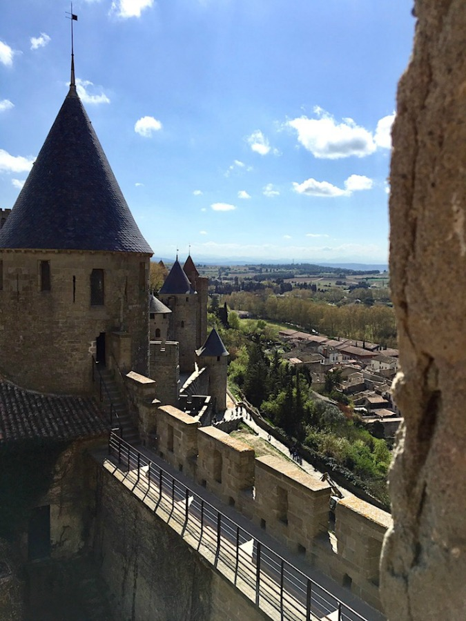 Carcassonne, France fortress