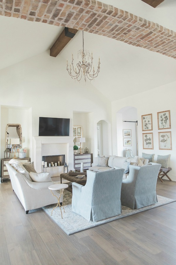 Country French Paint Colors Decor Ideas From A New Home With An Old World Heart Hello Lovely