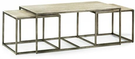 Antonio nested coffee table. #coffeetables #furniture #livingroom #nested