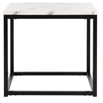 Safavieh side table with black base at Target