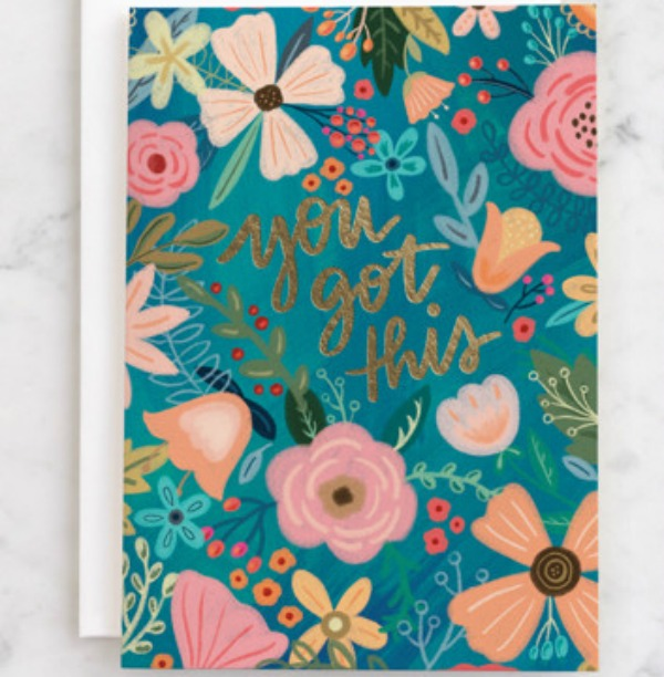 Floral greeting card designed by Noonday Design at Minted