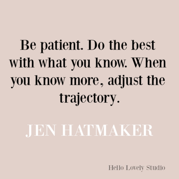 Jen Hatmaker quote about change, wisdom, and transformation. #jenhatmaker #quotes #selfawareness #transformation #encouragementquote #parentingquote