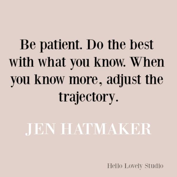 Jen Hatmaker quote about change, wisdom, and transformation. #jenhatmaker #quotes #selfawareness #transformation #encouragementquote #parentingquote