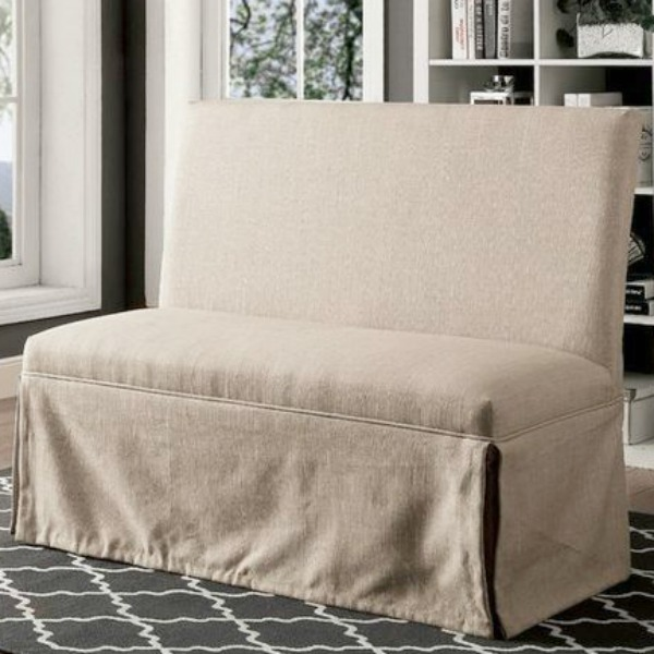 Trost Linen Upholstered Bench.