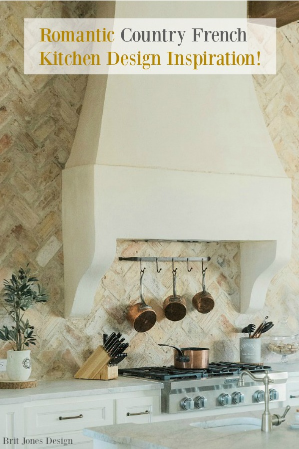 Banner for Romantic Country French Kitchen Design Inspiration