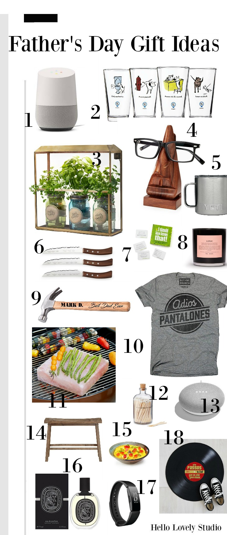 Father's Day Gift Ideas Hello Lovely Studio.