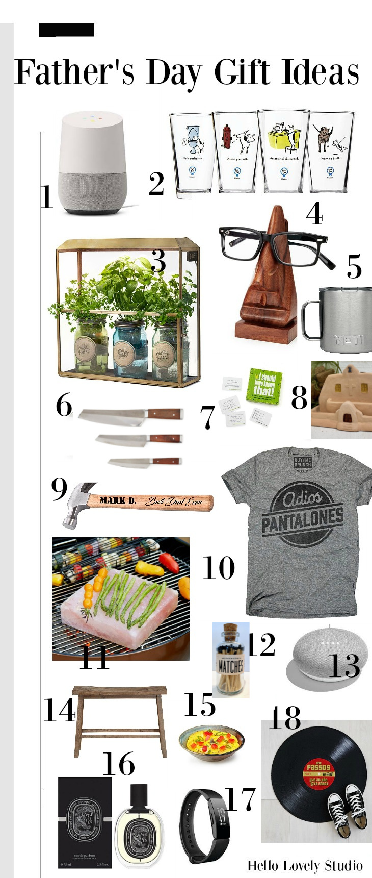 Father's Day gift idea guide - Hello Lovely Studio. #giftguides #fathersday #hellolovelystudio
