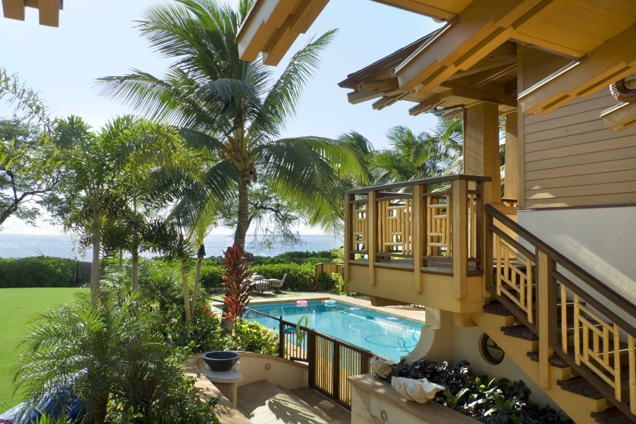 Beautiful pool design inspiration from Ike Kligerman Barkley on Hello Lovely Studio.