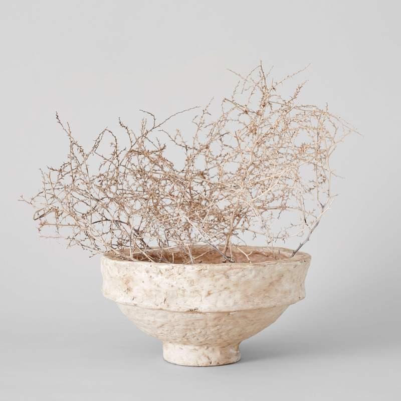 Paper Mache Bowl, Bloomist