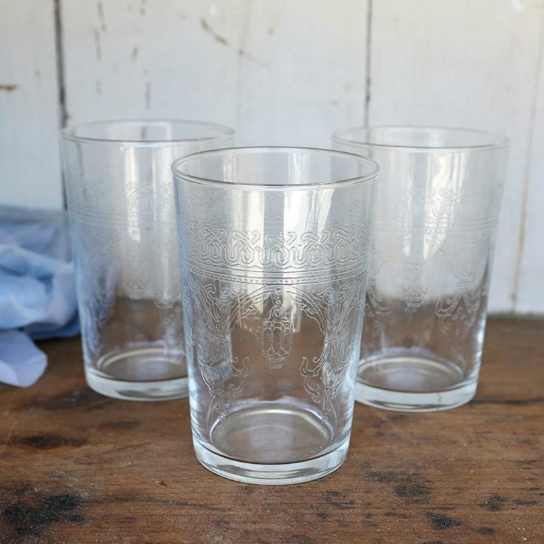Moroccan Glasses. Shabby Chic Couture Design Inspiration from Rachel Ashwell!