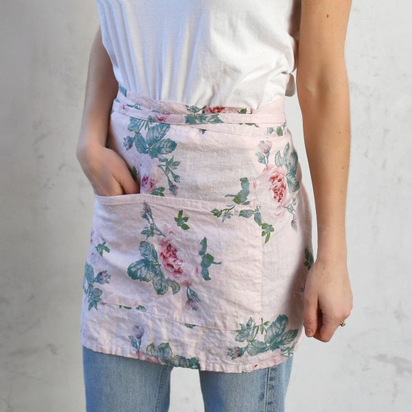 Rose majesty apron. Shabby Chic Couture Design Inspiration from Rachel Ashwell!