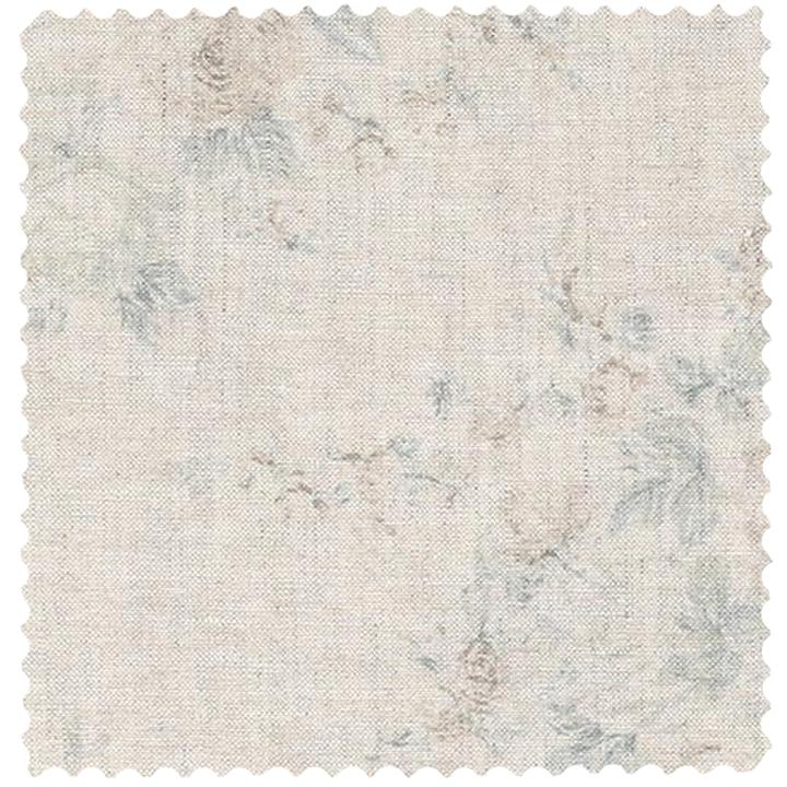 Shabby Chic Couture fabric Blossom Teal on Grain by Rachel Ashwell.