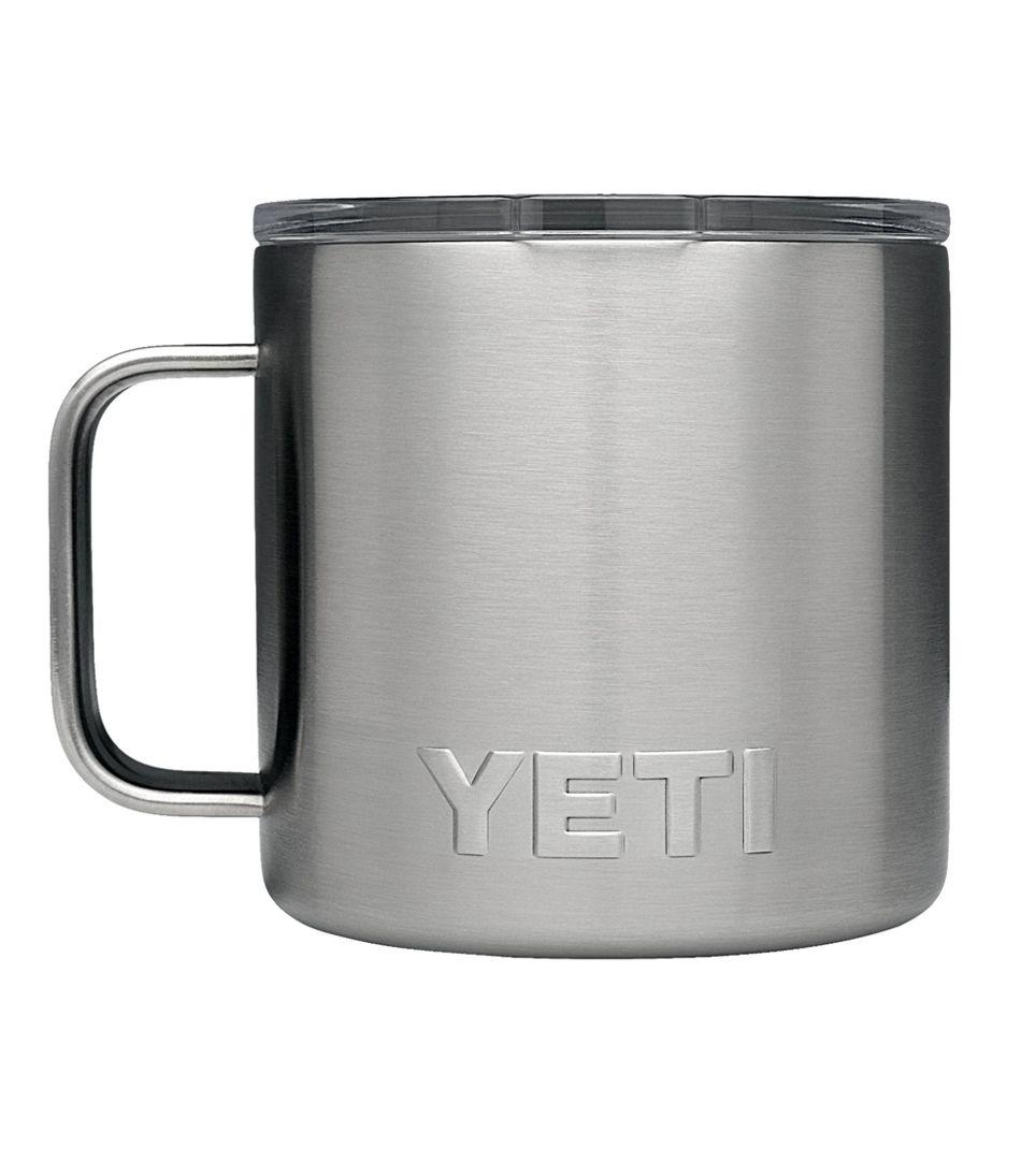 Yeti Rambler Mug - stainless.