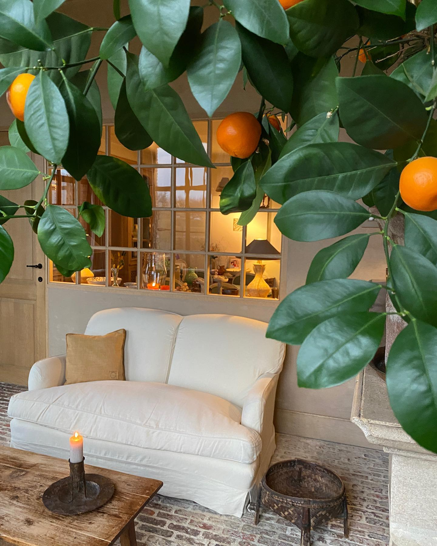 Orangery: Timeless design in the Belgian home and gardens of Greet Lefèvre. #belgianstyle #europeancountry