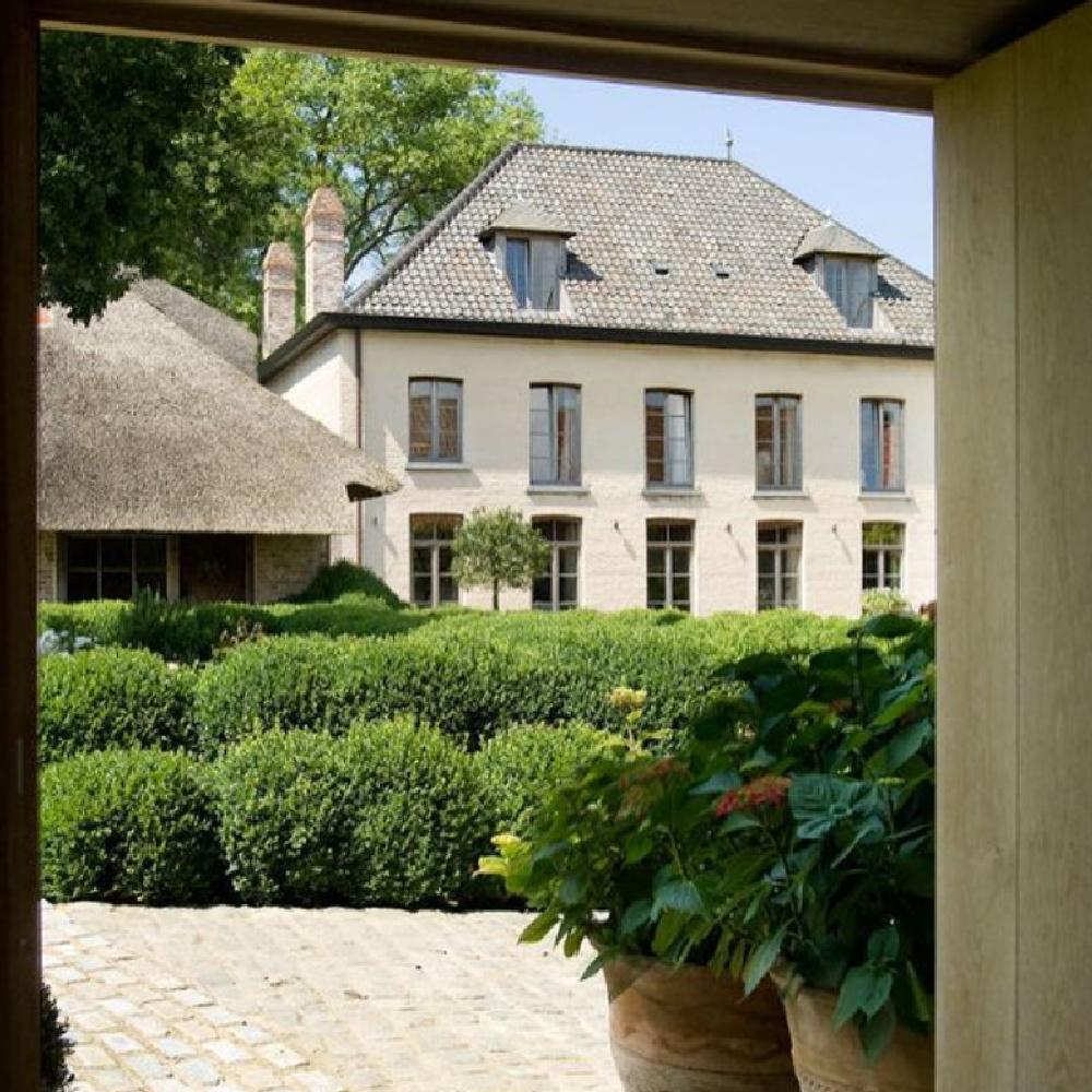 The Little Monastery (Brigitte Garnier) near Bruges in Belgium. #belgianstyle
