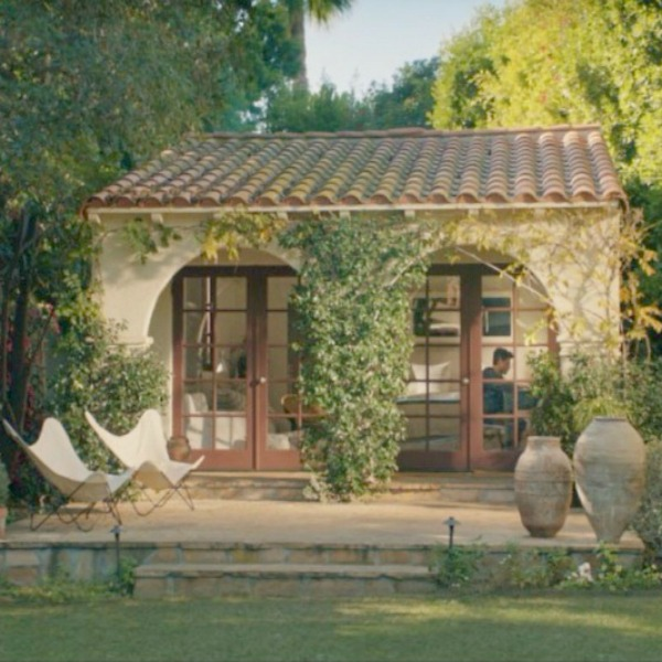 Guest house. Gorgeous interior in Reese Witherspoon's Home Again movie. Come get ideas to Steal this Look: Laid Back Cali Slightly Boho Chic in HOME AGAIN With Reese Witherspoon.