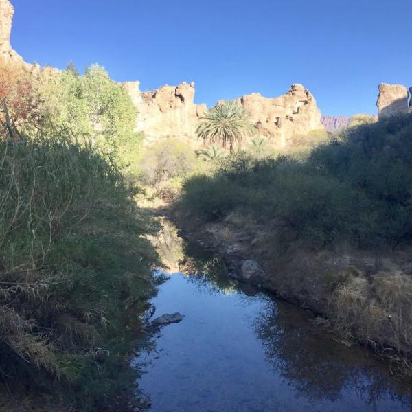 Desert stream in Arizona - Hello Lovely Studio.