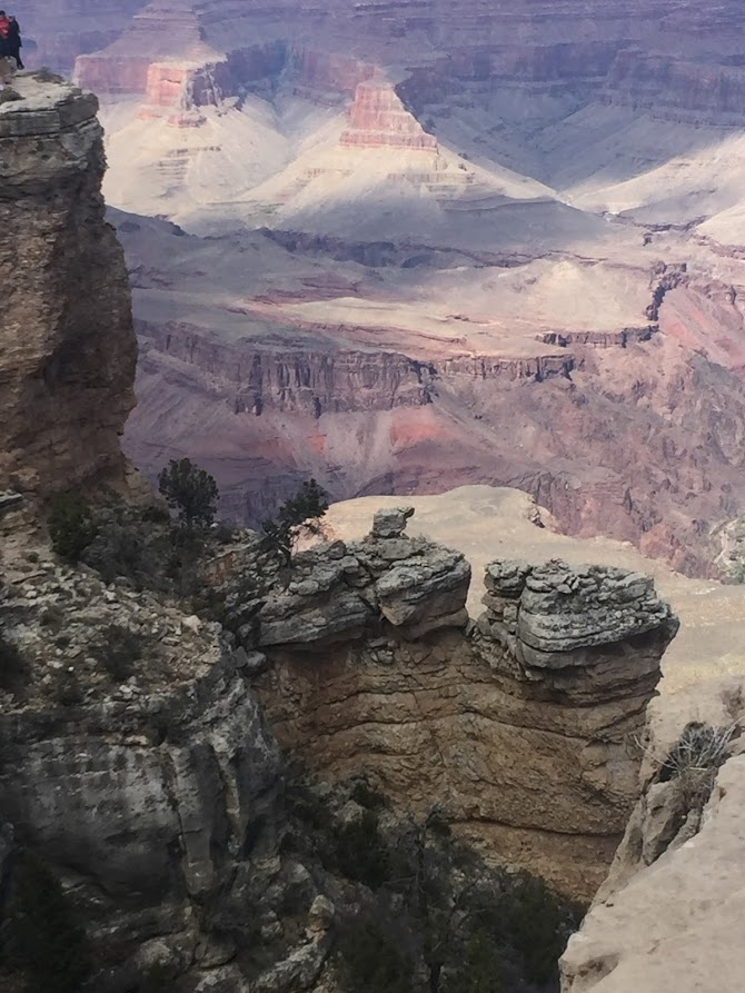 Reflections from a Previvor - Grand canyon - Hello Lovely Studio. Come hear about What It's Like Living With Breast Cancer Genetic Mutation: Soulful Reflections From a Previvor As Well As Information About BRCA and Hereditary Cancer.
