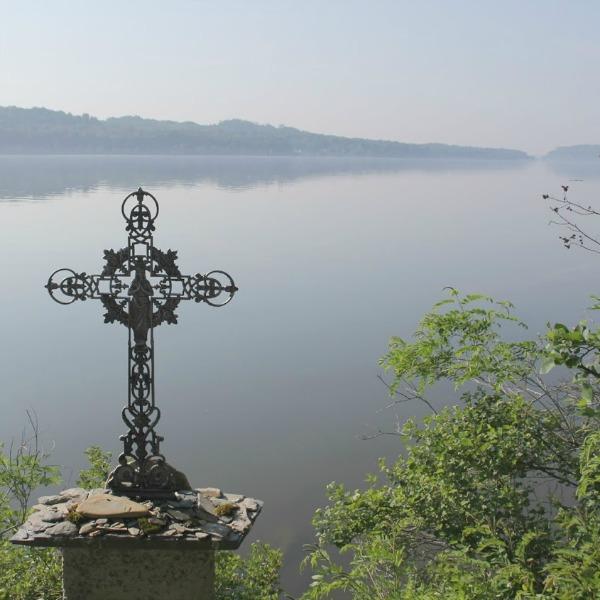 Serene photo at Holy Cross Monastery in West Park, NY - Hello Lovely Studio.