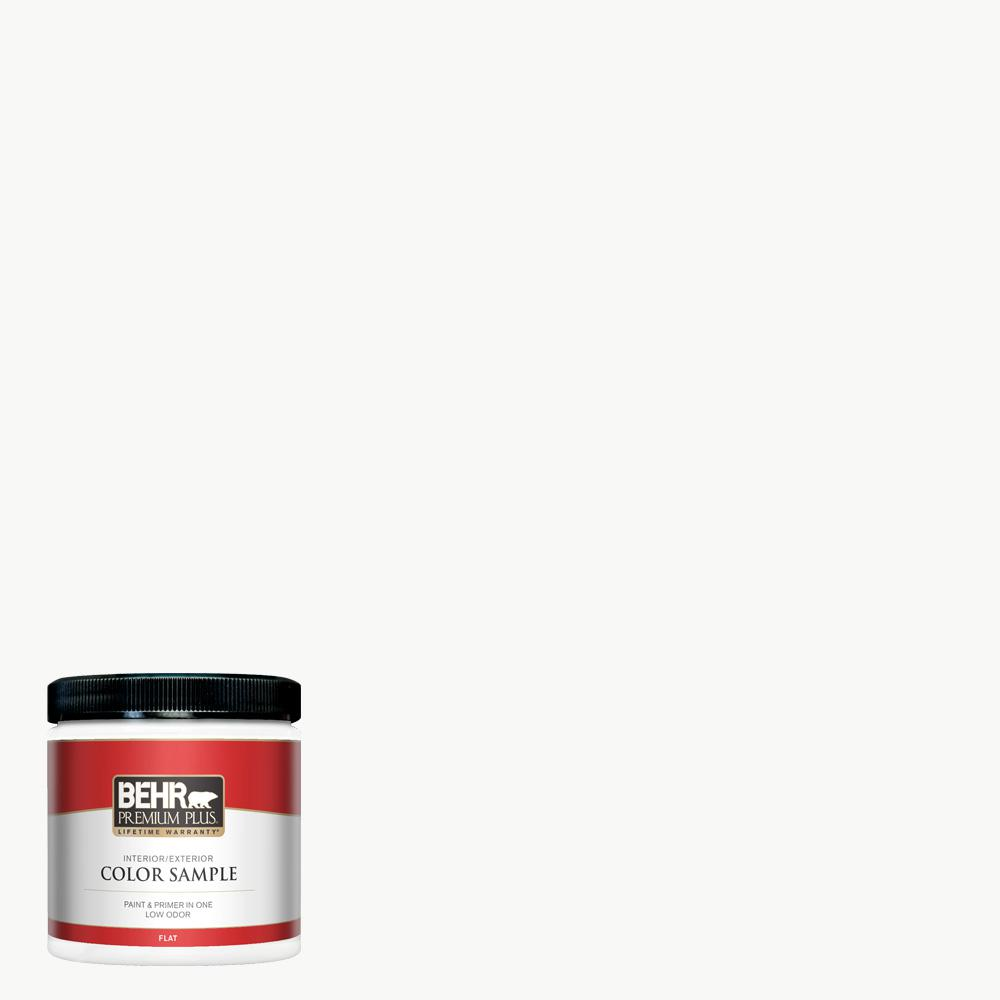 Behr Ultra Pure White paint color is a bright white with minimal undertones. #behr #paintcolors #whitepaint #bestwhitepaint