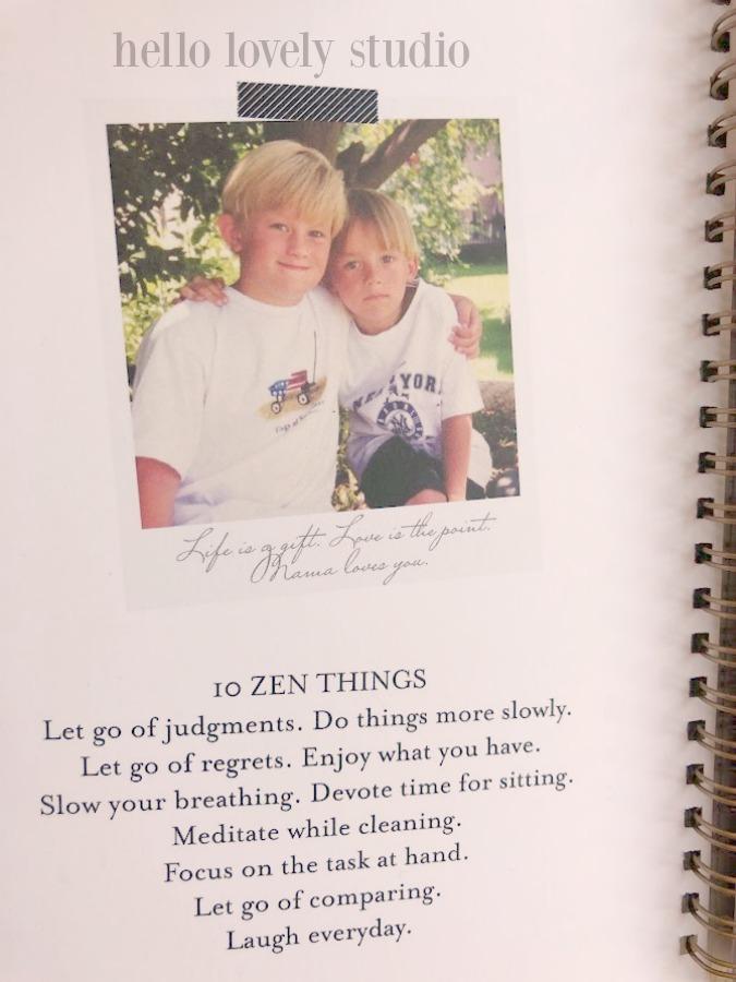10 zen things from Hello Lovely Studio.