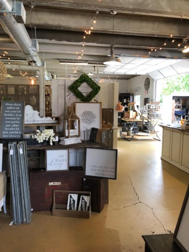Mercantile 1858 is a lovely shop in Franklin, Tennessee with vintage and farmhouse style decor - Hello Lovely Studio.