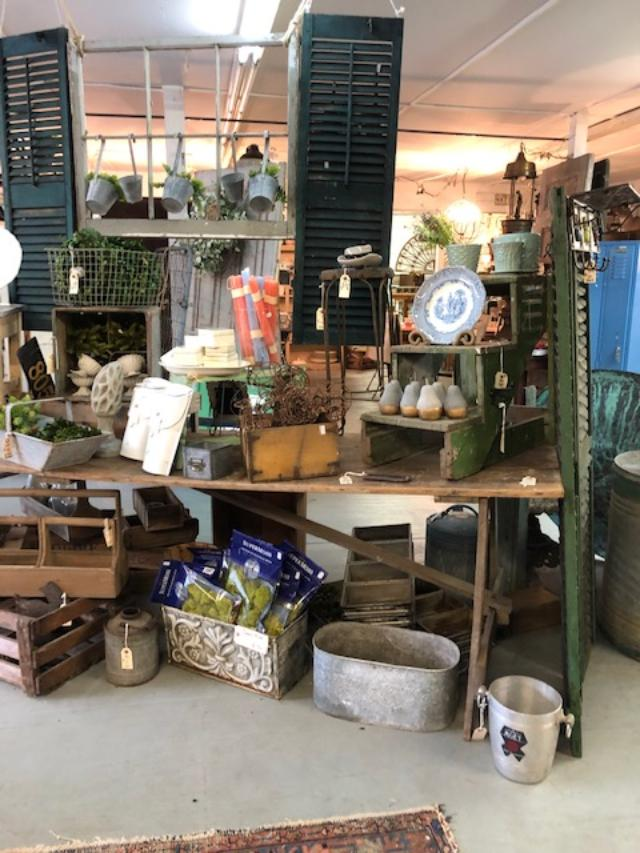 Scarlett Scales is a lovely antique shop in Franklin, Tennessee with a wonderful mix of whimsical and character-filled pieces - Hello Lovely Studio.