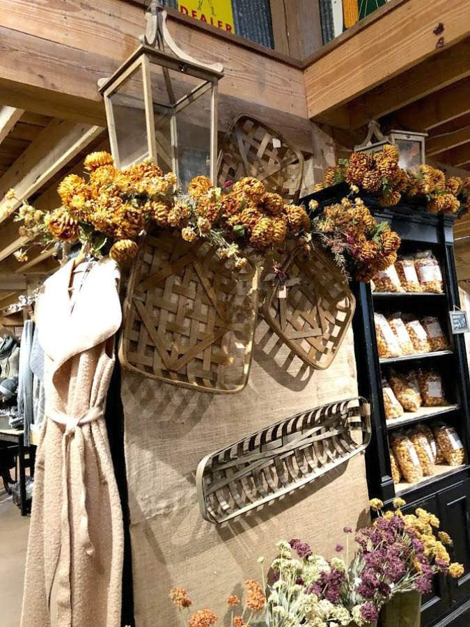 Fall decor inspiration from an apple orchard in Poplar Grove, IL (Edward's) - autumn magic in the heartland is hard to beat! Hello Lovely Studio. #falldecor #autumn #farmhousestyle #countrystyle #rusticdecor