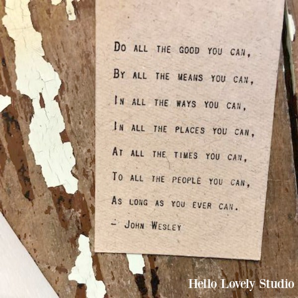 Inspirational quote on kraft paper cards to motivate, encourage, and uplift - Hello Lovely Studio. COME DISCOVER more inspiring words of wisdom, encouraging quotes, and affirmations on Hello Lovely Studio.