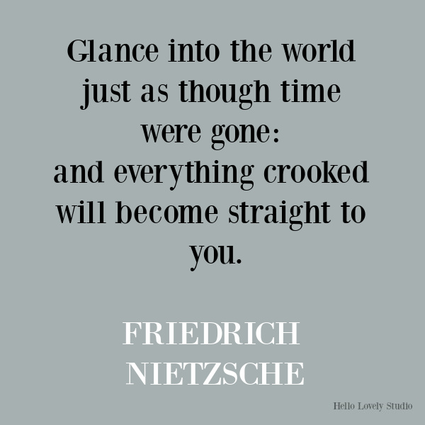Nietzsche inspirational quote about seeing. #nietzsche #quotes #seeing #inspirationalquote #wisdomequotes