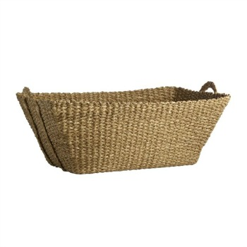French laundry basket from West Elm.