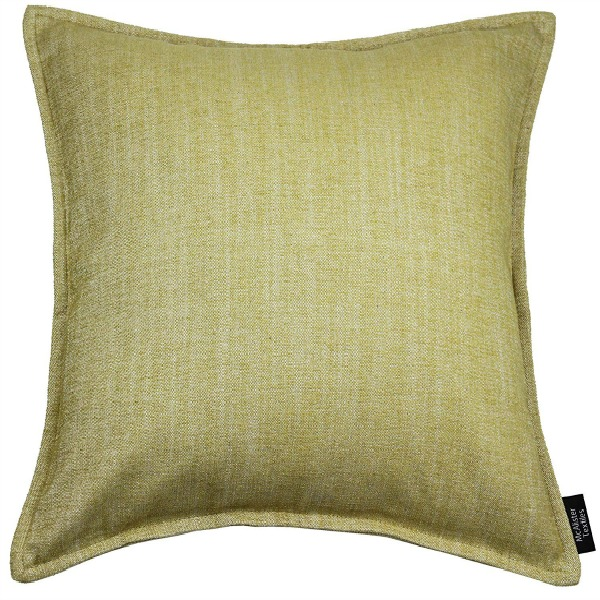 Ochre throw pillow from Amazon