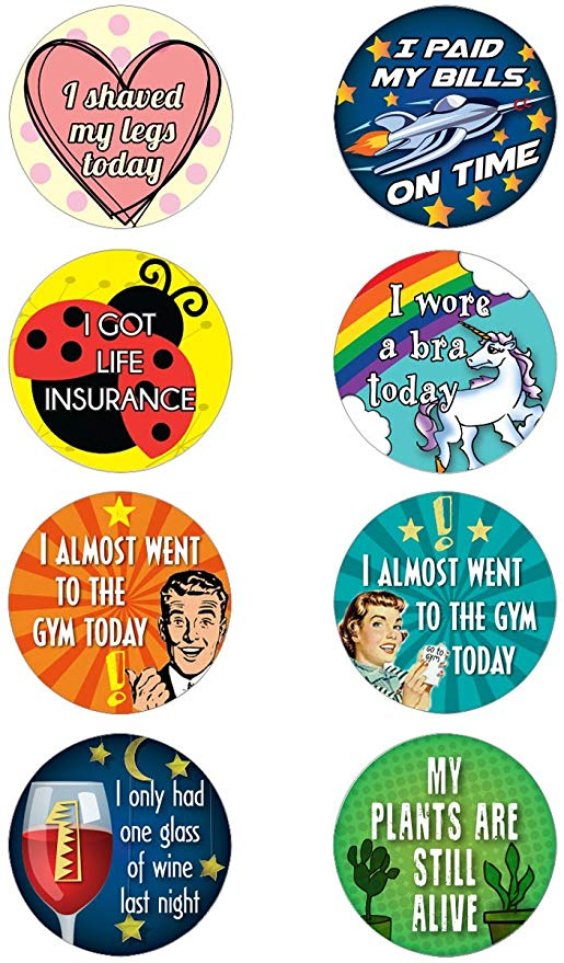 Funny adulting stickers. COME OVER TO LAUGH at Silly Humor Quotes, Smiles & Serious Laugh Therapy!