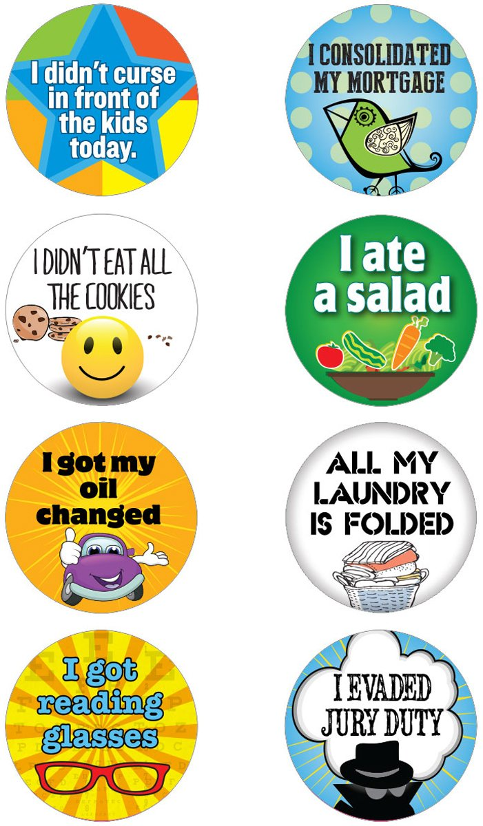 Funny adulting stickers