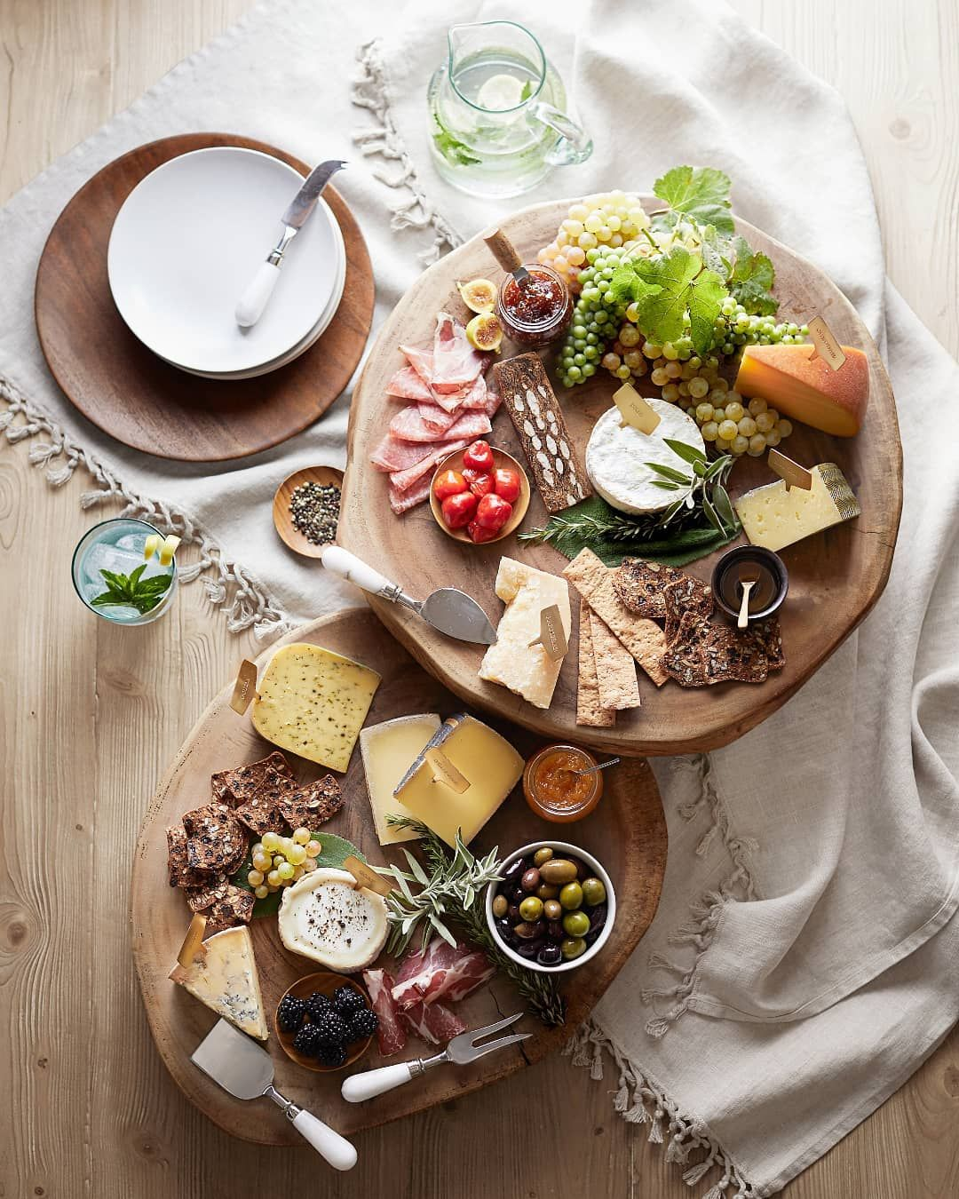 Charcuterie boards, cheese, and inspiration for easy entertaining - Pottery Barn.